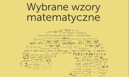 karta wzorów maturalnych z matematyki