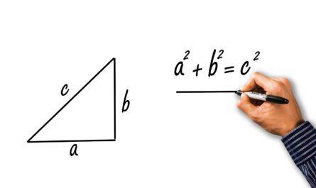 Nauka wzorów matematycznych na przykładzie twierdzenia Pitagorasa